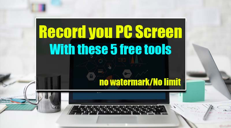 Top 5 Best Free Screen Recorder For Windows And MAC | No
