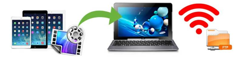 Transfer Data from Android to PC over Wifi