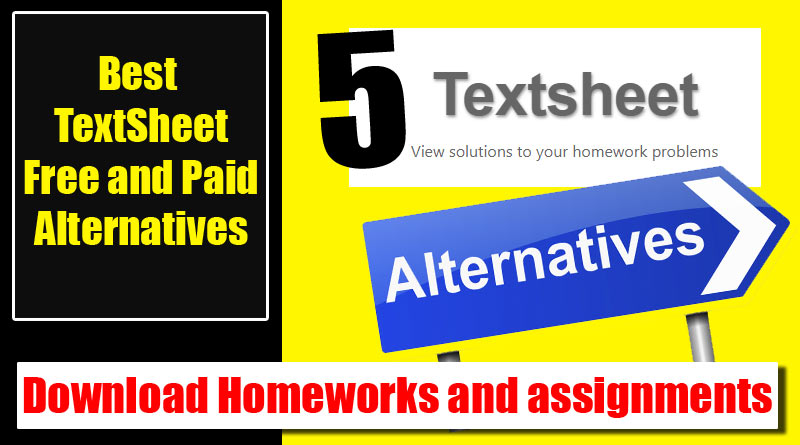 Best TextSheet Alternative 2019 -Free and Paid [detailed]