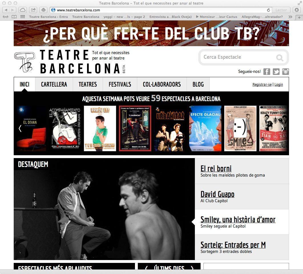 Home de Teatre Barcelona
