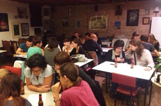 Postfunció de la primera jornada de la Lliga de teatre Sixto Paz