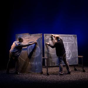 Distancia siete minutos - Titzina Teatre - © Fernando Moleres.