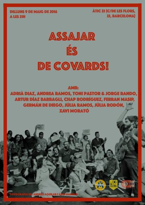 Assajar és de covards #pollovisión (c) Júlia Rodón