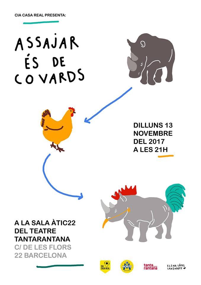 Assajar és de covards - (c) Elena López Lanzarote