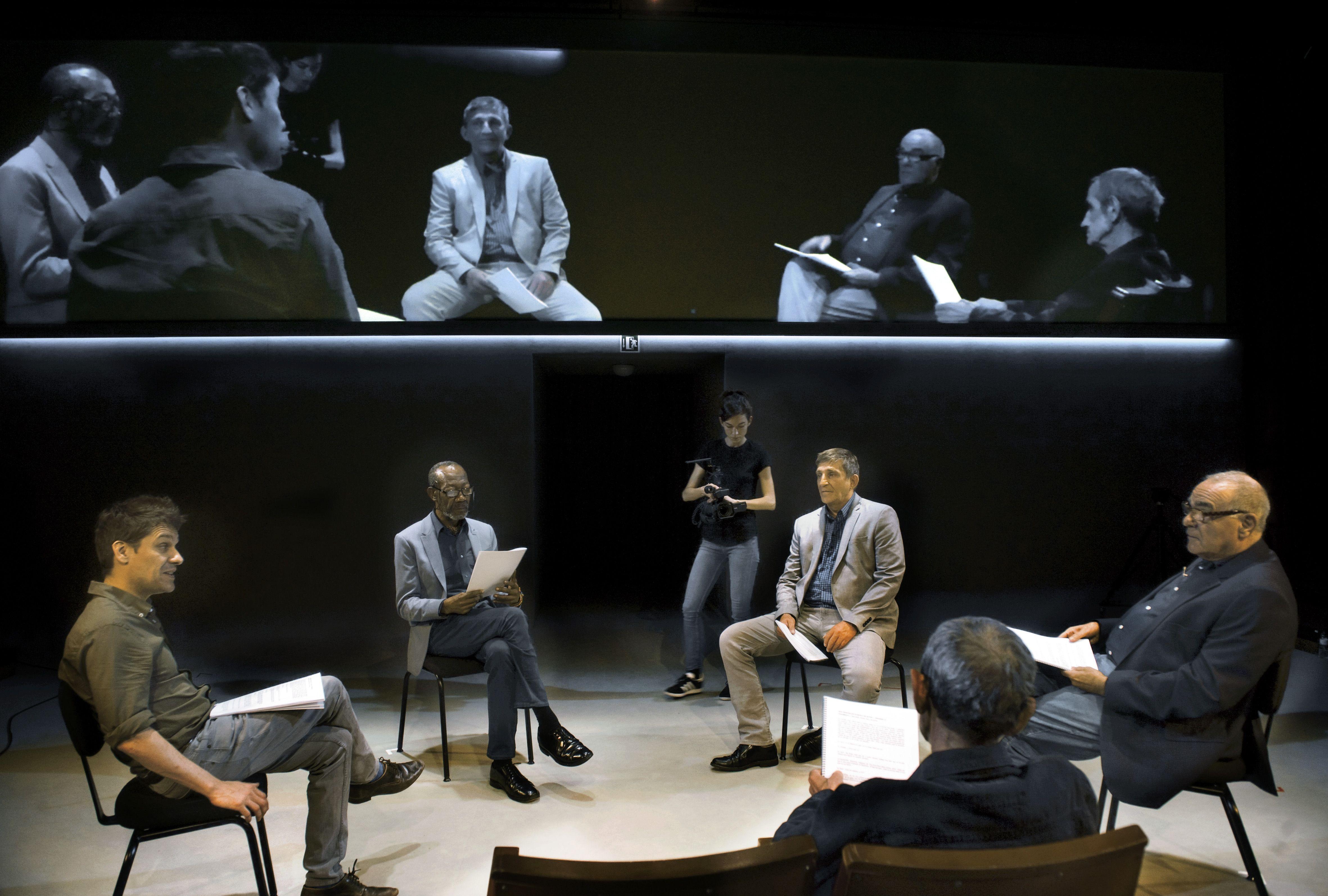 Sis personatges - Homenatge a Tomás Giner - (c) Ros Ribas