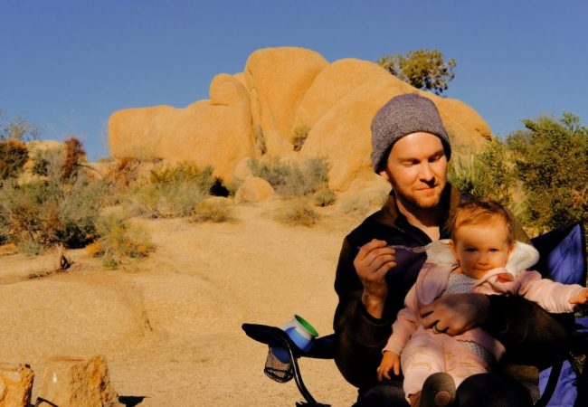 Photos: Desert Camping in November with Baby at Joshua Tree's Jumbo Rocks