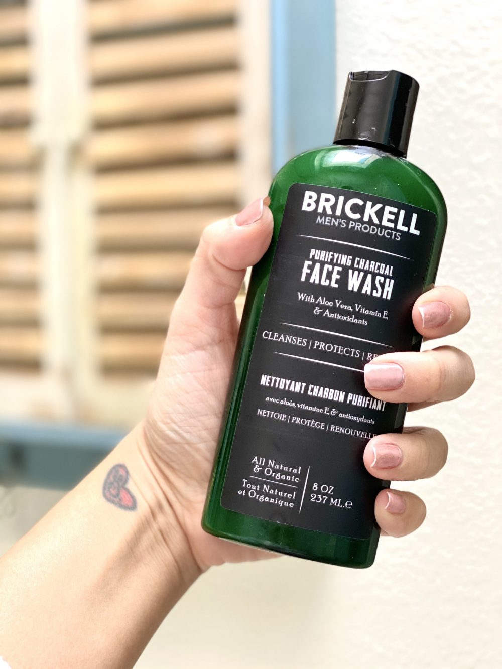 Brickell clean skincare for men