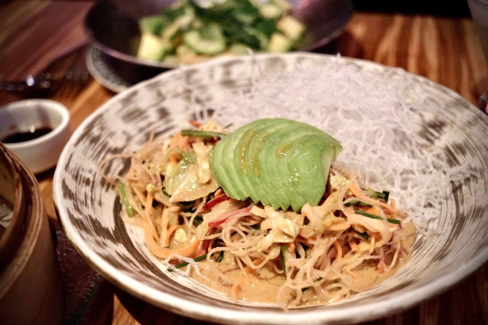 China Poblano glass noodles salad