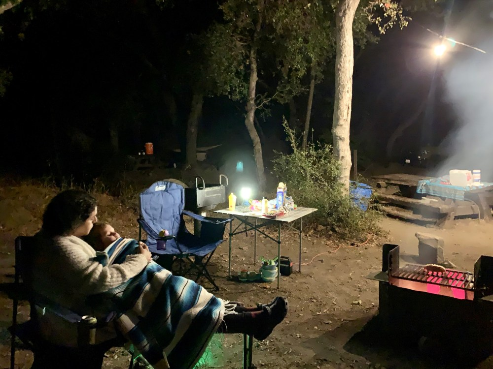 Wheeler Gorge Campsite Photos