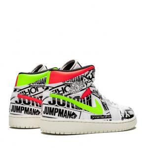 Air Jordan Newspaper print shoes