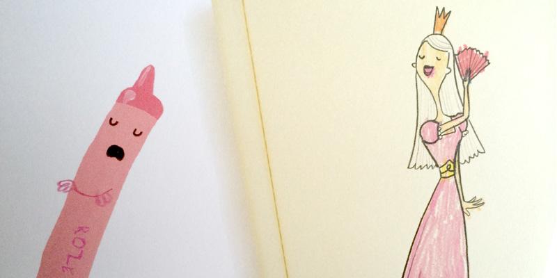Kinderboek van de week: De krijtjes staken