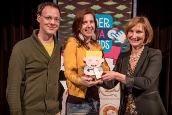winnaar kinder media awards 2015 somoiso heksje & Willem