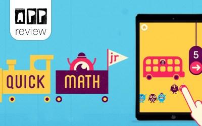 App review: Quick Maths Jr.