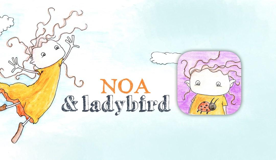 Noa and ladybird children app somoiso hanneke van der meer