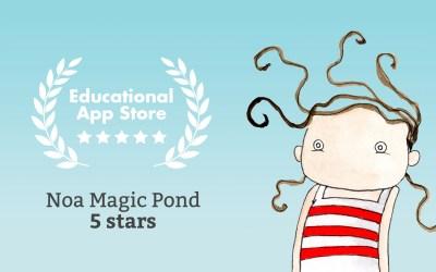 Noa Magic Pond gets Five Stars!