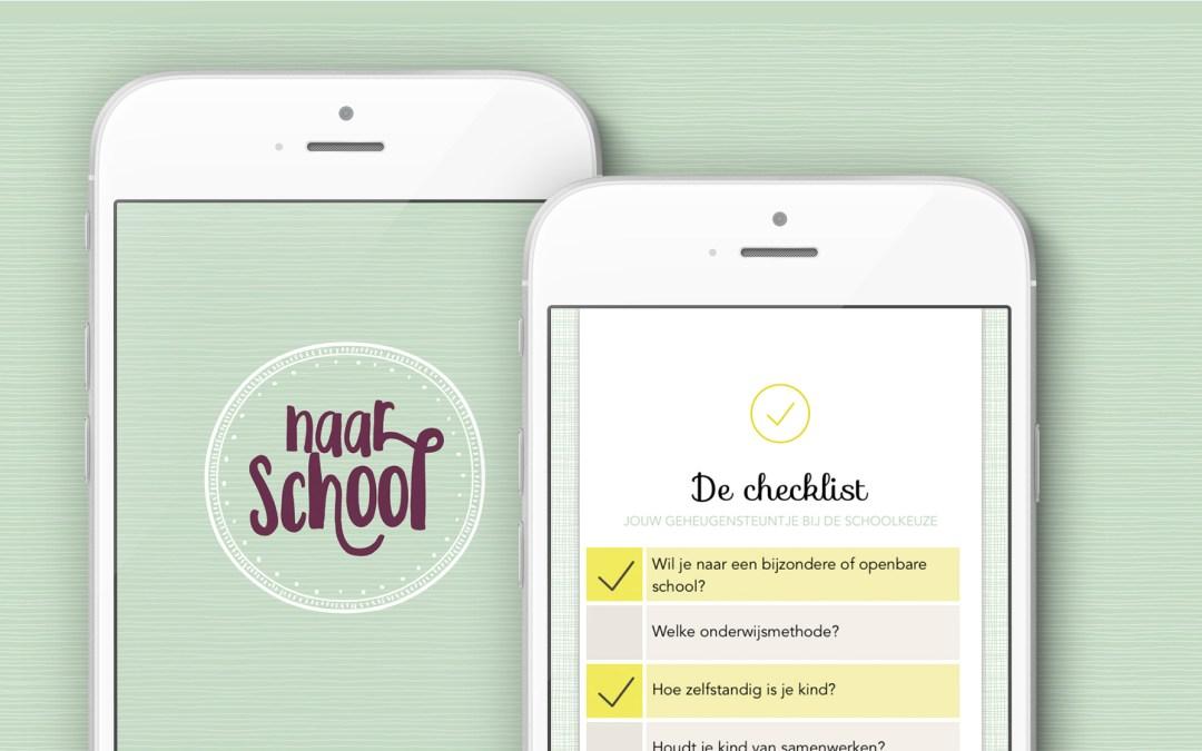 Kleuter naar school: app voor ouders