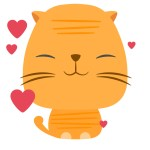 Oji Momo stickerpack iOS