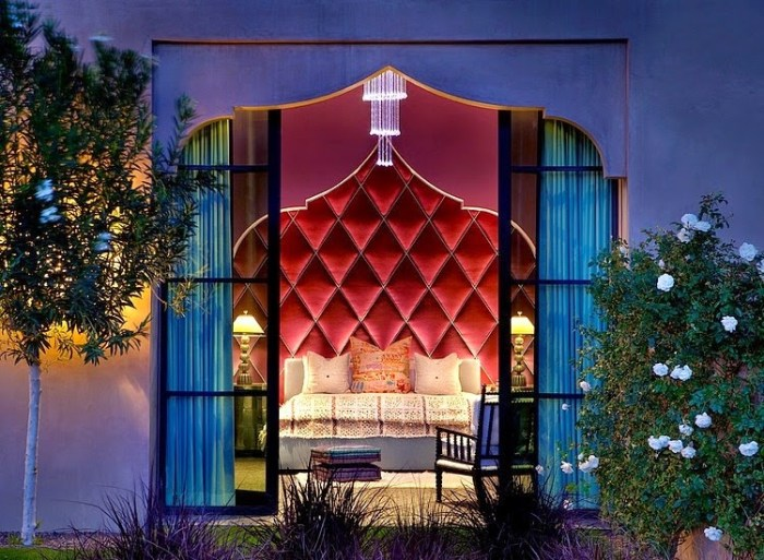 Moroccan Red Bedroom, casbah-cove-gordon-stein-design