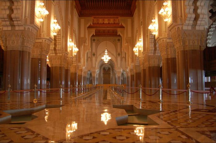 Hassan II mosque, Casablanca, Morocco, photo credit: Dongyi Liu, Flickr