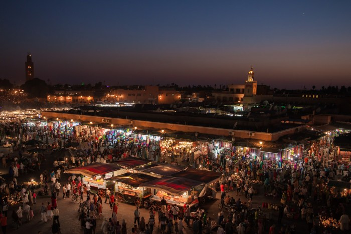 Place Jemaa el-Fna - Marrakech, Morocco. Photo Credit: SuperCar-RoadTrip, Flickr