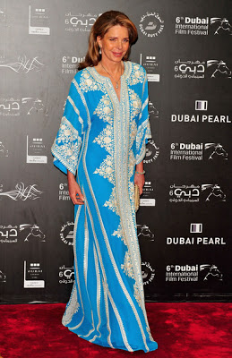Queen Noor at Dubai IFF, Source: Pinterest