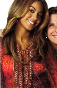 Beyonce in a Moroccan Red Caftan