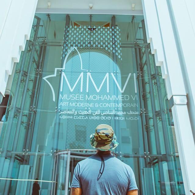 Usher at Mohammed VI museum