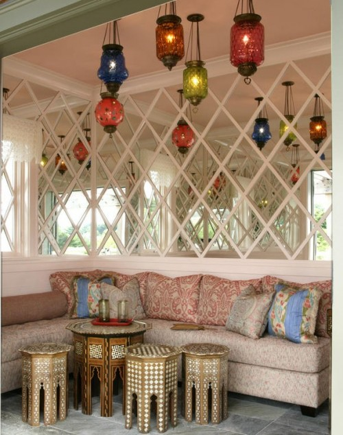 via HGTV – 12 Exotic Moroccan-Inspired Rooms