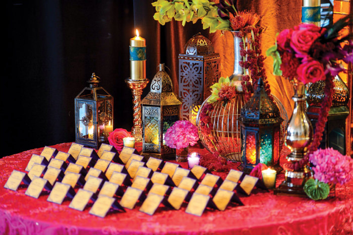 Moroccan Invitations, Image source: Intimate Weddings