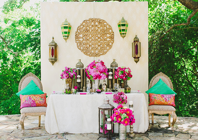 Moroccan wedding inspiration by milouandolin.com