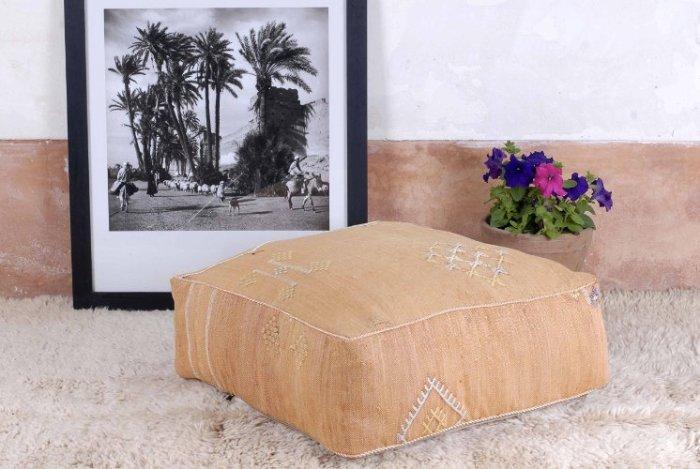 moroccan pouf kilim sabra rugs berber tribal