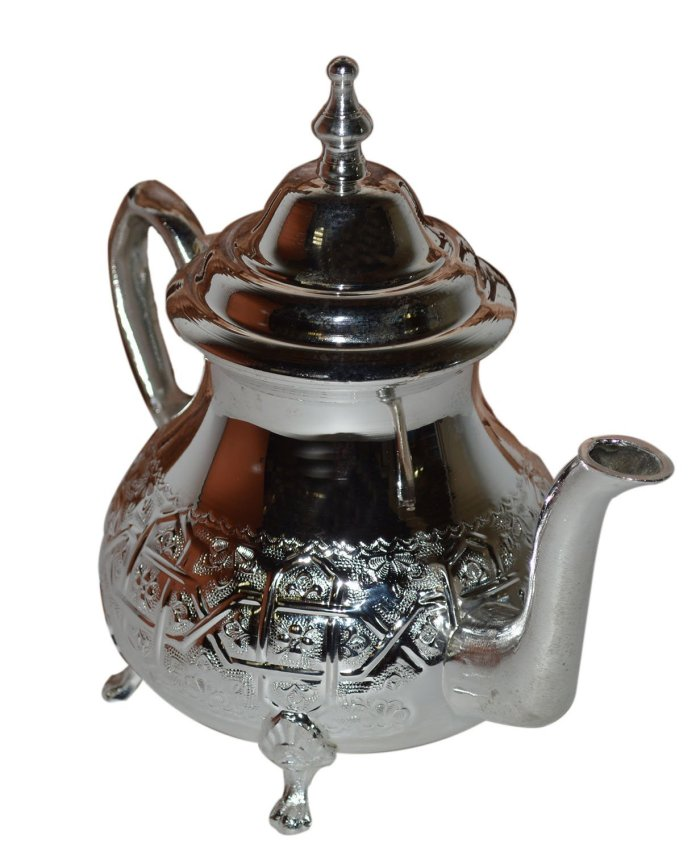 Moroccan Silver Plated Teapot