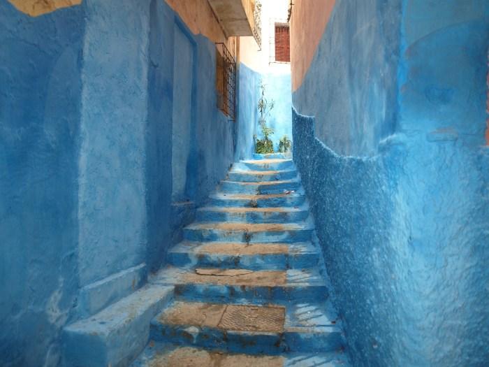 Blue street, Chefchaouen, Morocco