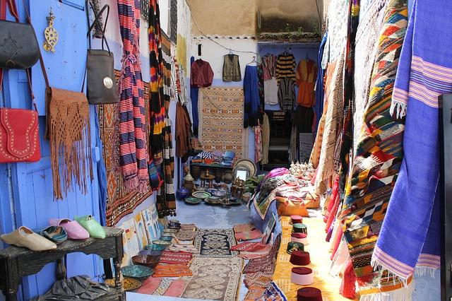 medina shop, morocco