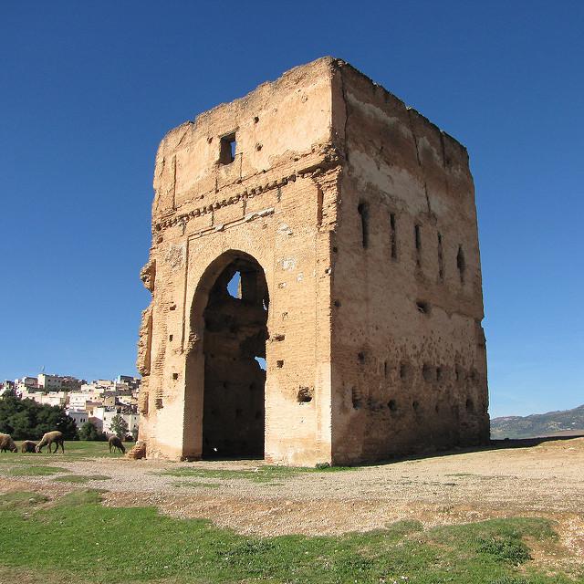 Merenid Tombs, y=via Flickr