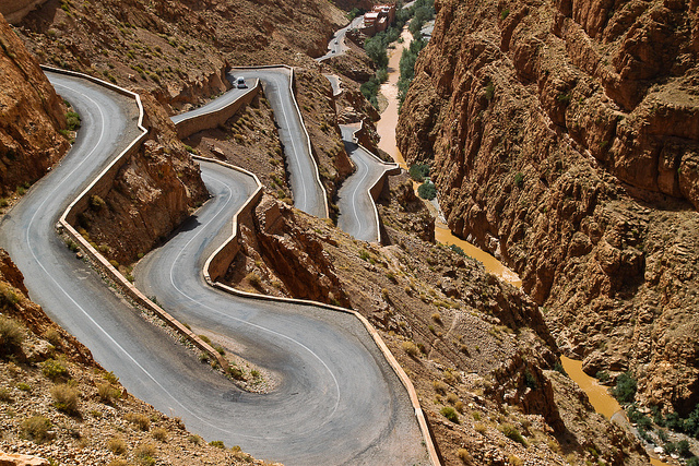 Dades Gorge, Photo Credit: Jelle Oostrom, Flickr