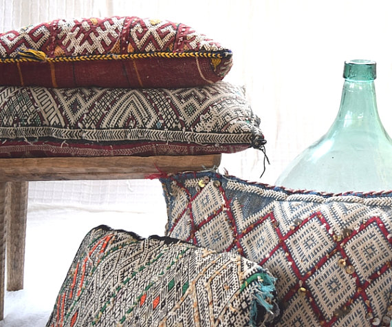 Moroccan berber kilim pillows, Shop this item HERE