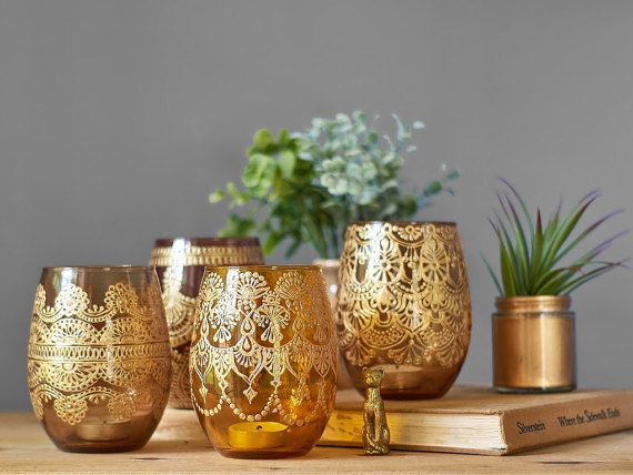 Henna Lamps:  Decor Ideas & Inspirations