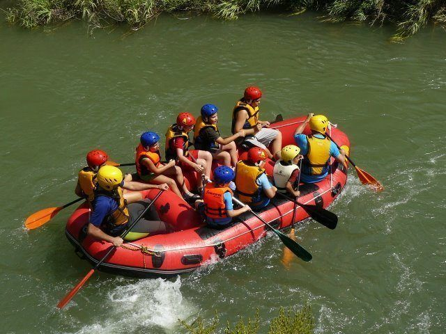 Rafting Valencia excursiones escolares 4