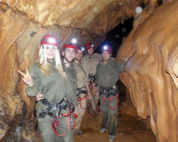 Espeleología cueva Cirá 5