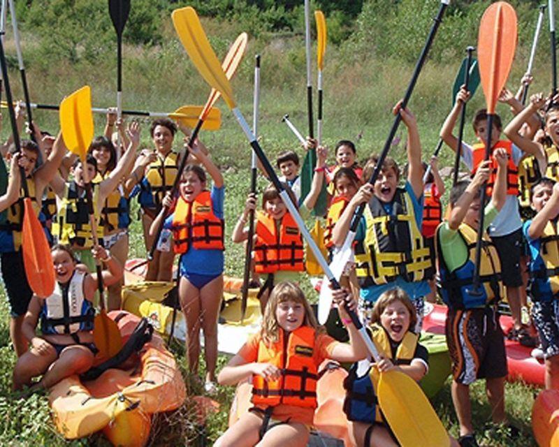 Multiaventura acuática con escolares 1