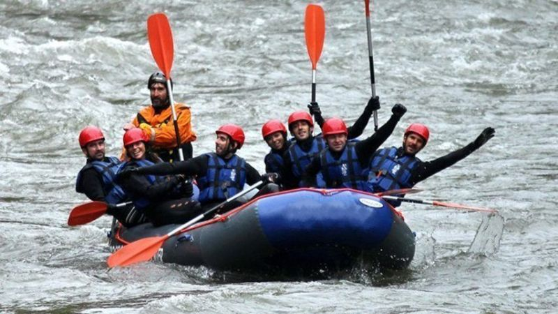 Rafting Pirineos - Sort Aguas Bravas
