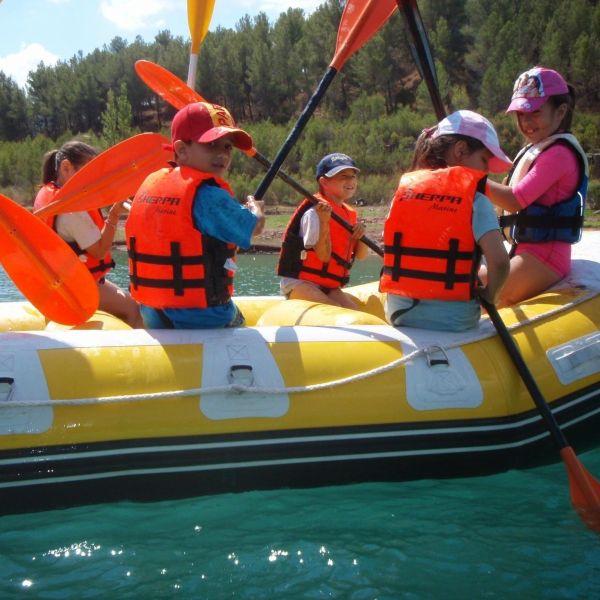 Rafting viaje fin de curso 1