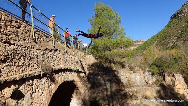 Puenting en Valencia con Somos Aventura 4