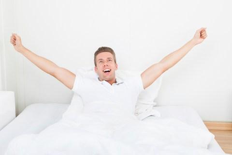 Despertarse feliz