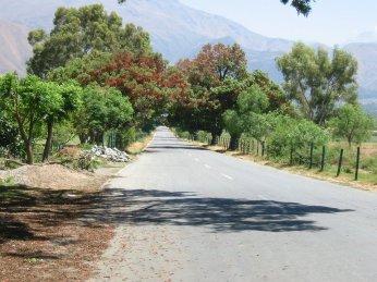 Avenida Simon I Patiño, acceso a Villa Albina