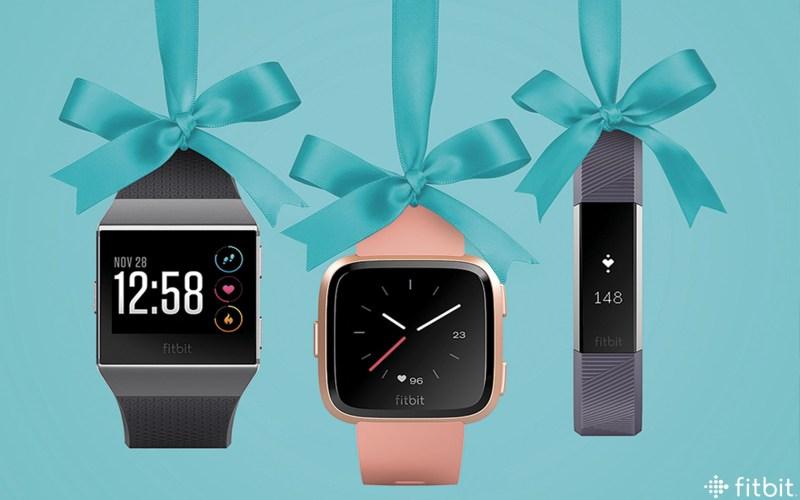 Guía de regalos Fitbit.