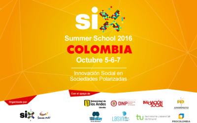 SIX Summer School 2016, Bogotá