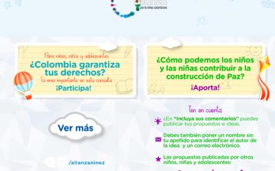 Consulta Nacional de Alianza por la Niñez Colombiana
