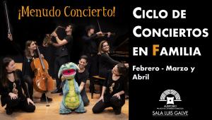 ¡MENUDO CONCIERTO! - Las Cuatro Estaciones de Sofía - CICLO DE CONCIERTOS EN FAMILIA @ Sala Luis Galve del Auditorio de Zaragoza